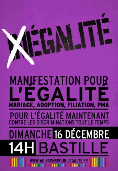 2012-12-16 Manifestation pour l'égalité