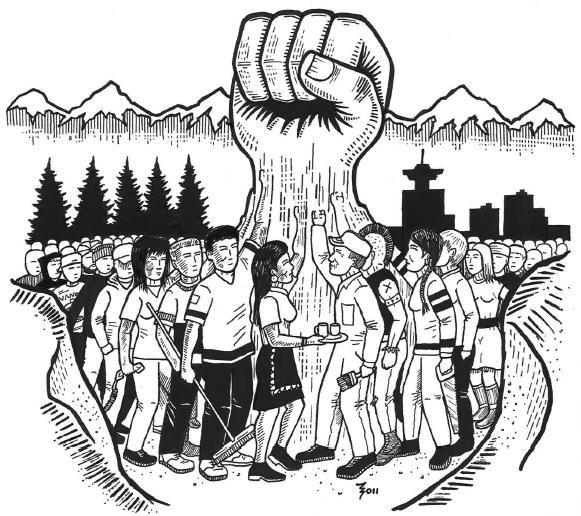 Dessin - Le peuple uni