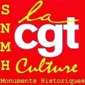 la CGT Culture SNHM Monuments Historiques